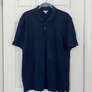 Calvin Klein Navy short sleeve polo